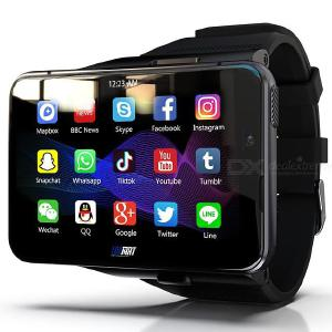 LOKMAT APPLLP Max Smart Watch 2.88 Inches Large Screen 4GB+64GB 5.0MP+13MP Dual Camera WIFI GPS Android Watch Phone
