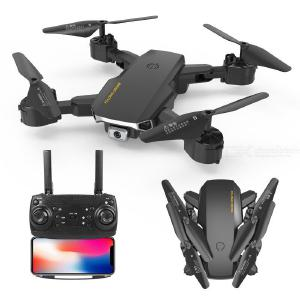 A17 Foldable 4K Dual Cameras Drone Aerial Photography Height Holding Remote Control Aircraft