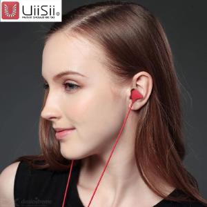 UiiSii C100 In-Ear Headphones Heavy Bass Portable 3.5mm Wired Headphones With Mic