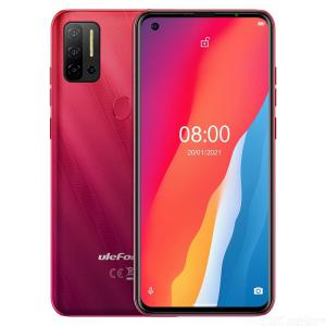 Ulefone Note 11P Global Version Smartphone 6.55 Inch Quad Back Cameras 8GB+128GB Dual SIM 4G Android 11