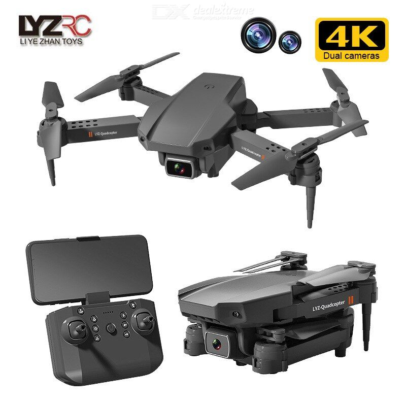 L703 Foldable Drone Portable 4K HD Camera 2.4G Remote Control Headless Mode Six-axis Gyroscope