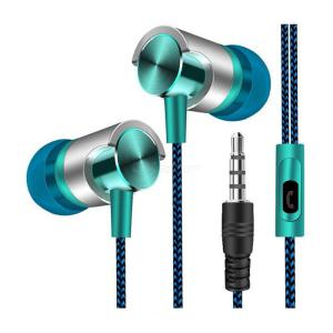 NEW Earphone Universal 3.5mm In-Ear Stereo Earbuds Built-in microphone High Quality Wired Earphones For Cell Phone