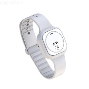 Quelima new F8 mosquito repellent bracelet ultrasonic electronic device for children adult outdoor anti-mosquito device
