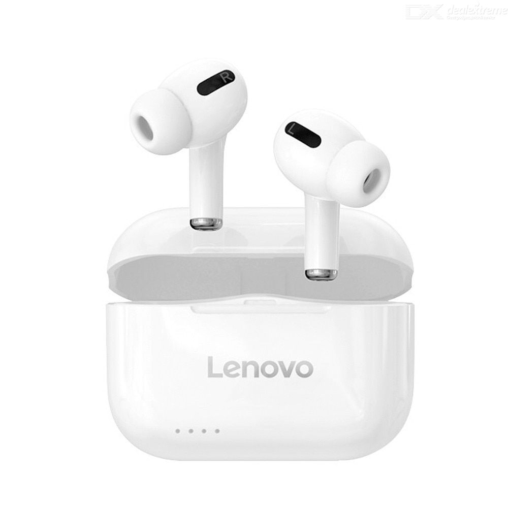 Lenovo LP1S TWS Bluetooth 5.0 Earphone Wireless Earbuds Stereo Noise Cancelling Mic Smart Touch Sport Headset Headphone
