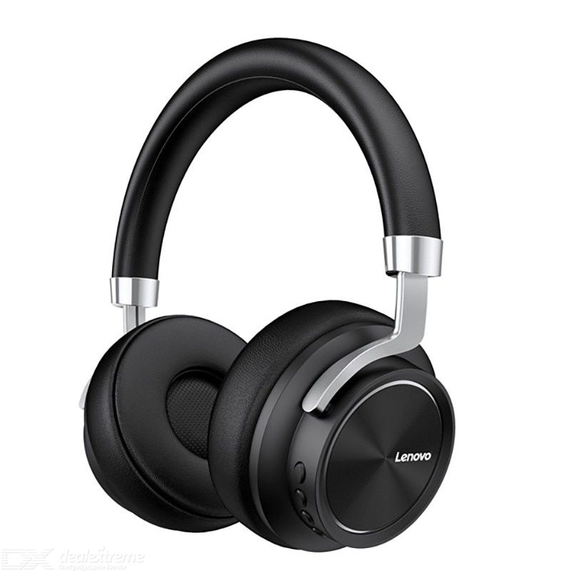 Lenovo HD800 Bluetooth Headset Wireless Foldable Computer Headphone Long Standby Life With Noise Cancelling Gaming Headset
