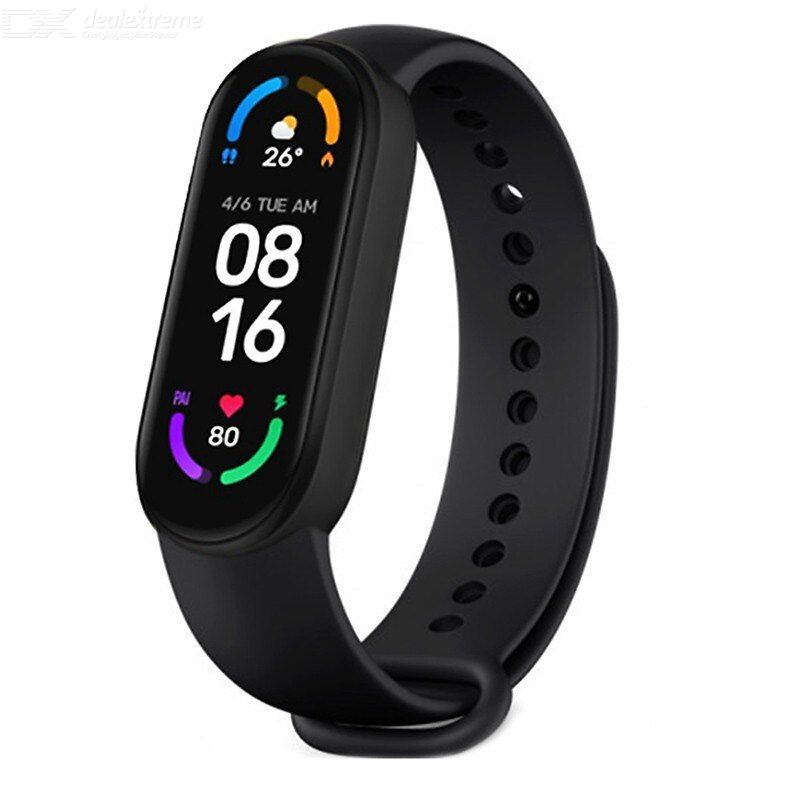 Xiaomi Mi Band 6 Smart Armband Band 1,56 Zoll Amoled Fitness Tracker Herzfrequenz Monitor Miband 6 Für Android IOS