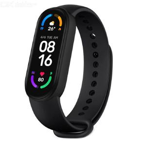 Xiaomi Mi Band 6 Smart Bracelet Band 1.56 Inch AMOLED Fitness Tracker Heart Rate Monitor Miband 6 for Android iOS