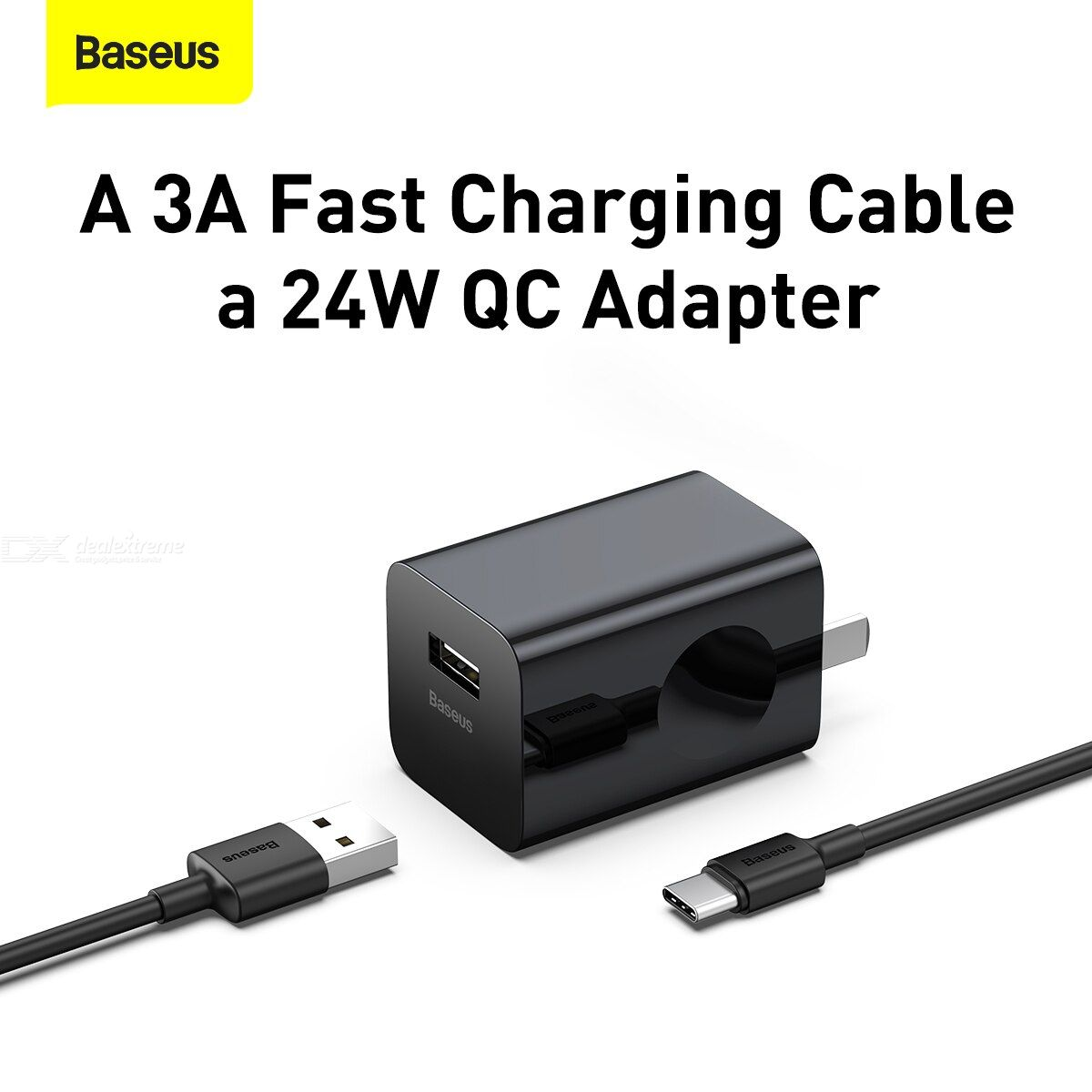 BASEUSE Two-in-one wireless magnetic charging stand 20W CN with Type-c cable 3A 1m