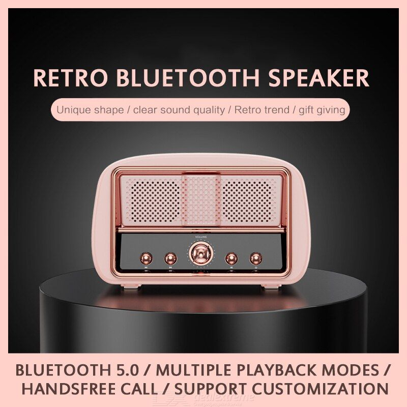 HM13 Mini Speaker For TV Small Stereo Music Player With Built-in Mic Bluetooth Subwoofer
