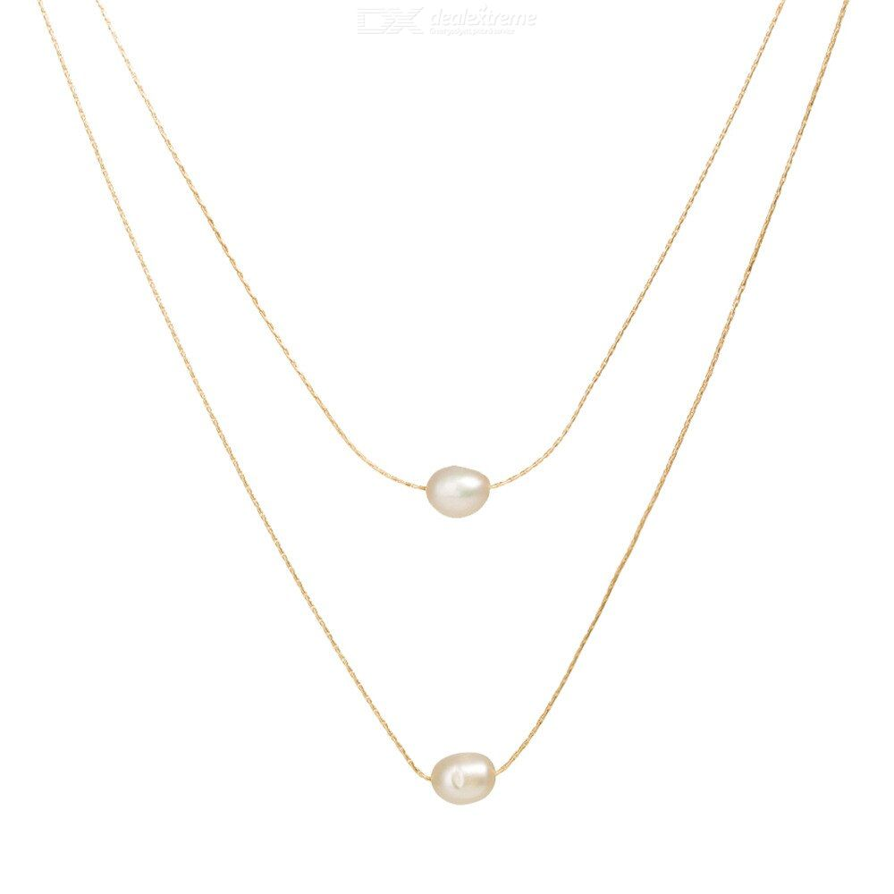 Natural freshwater pearl Multilayer necklace for women