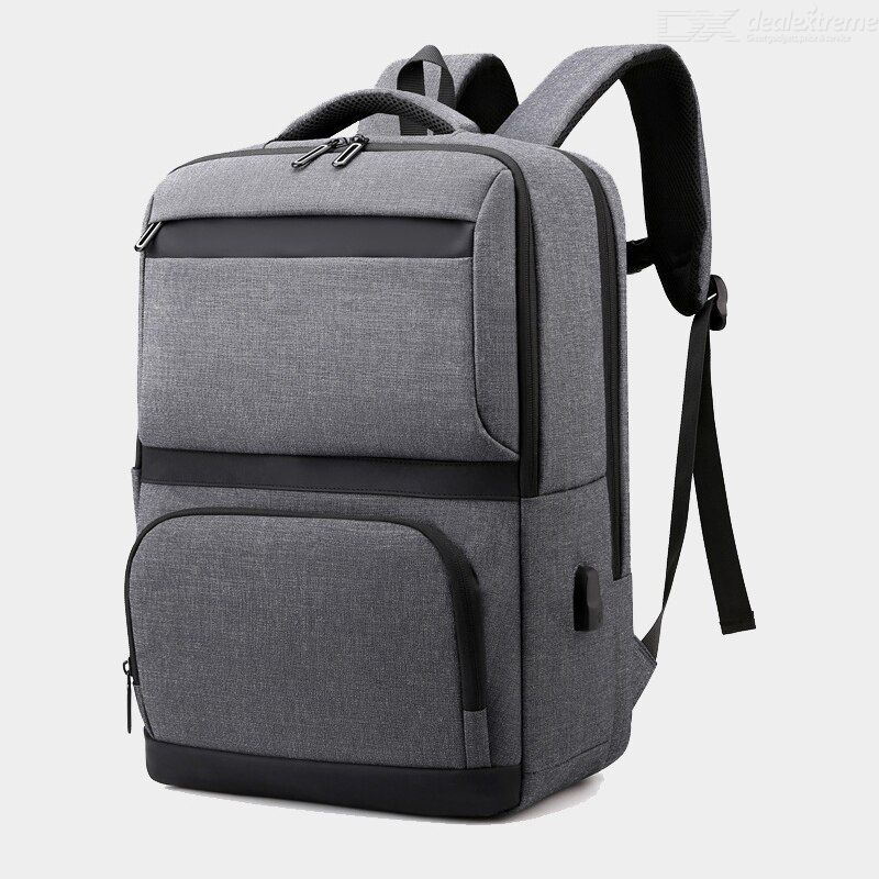 New Backpack Computer Bag 2021 Business Commuter USB Charging Travel Oxford Backpack
