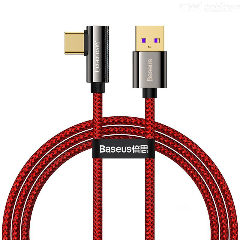 Baseus Legend Series Elbow Fast Charging Data Cable USB to Type-C 66W 2m