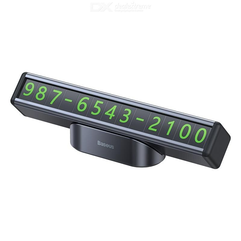 Baseus Xiaofangtiao Temporary Parking Number Card Car Owner Moving Phone Number Plate