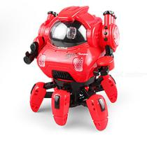 Electric Singing Dancing Robot 6-claw Musical Toys With Lights  Children Birthday Gifts