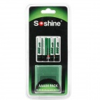 Soshine Rechargeable 1.2V 900mAh AAA Batteries (4-Battery)