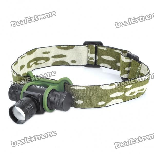 Focus-Adjustable 3W 120-Lumen 3-Mode White Light Headlamp w/ Battery Charger(1 x 14500)