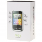 "F603 2.8"" Android 2.2 Touch Screen Dual SIM Quadband TV Smart Phone w/ Wi-Fii + GPS - Red"