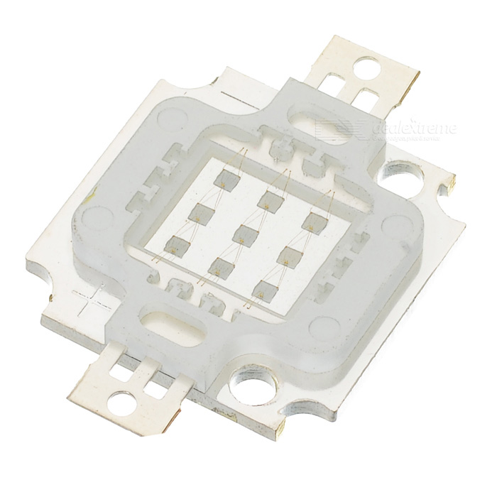 10W 180-Lumen 455nm Blue Light 9-LED Metal Plate Module (9~11V)