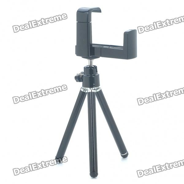 ... Universal Swivel Tripod Stand Holder for Cell Phone/Camera - Black ...