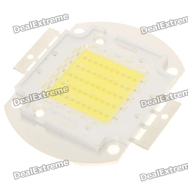 50W 3500LM 20000K bleuâtre White Light LED Module de plaque (32 ~ 36V)