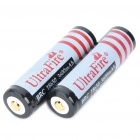 "Rechargeable 3.7V ""3600mAh"" 18650 Battery - Actual 2200mAh (2 Piece Pack)"
