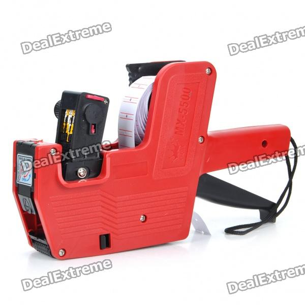 MX-5500 Price Labeller Tag Gun - Red + Black