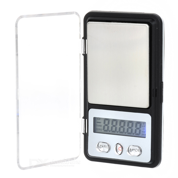 "Mini Precision 1.1"" LCD Digital Jewelry Scale - 100g/0.01g"