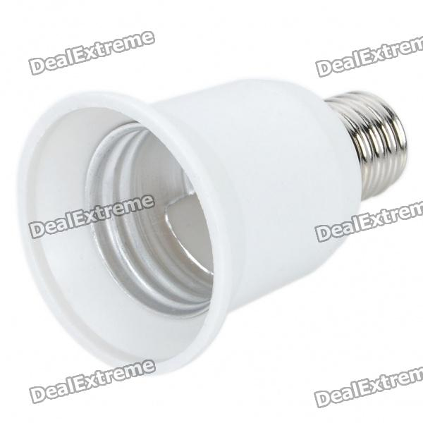 E27 Female to E17 Male Light Lamp Bulb Adapter Converter (250V)