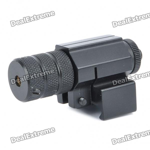 Adjustable Universal Red Laser Gun Aiming Sight Bore Sight -Black