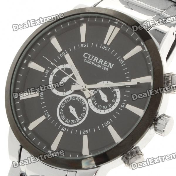 Buy Stylish Stainless Steel Water Resistant Wrist Watch (1 x LR626) with Litecoins with Free Shipping on Gipsybee.com