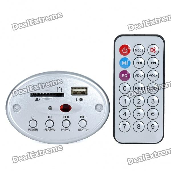 MP3 Player Module with Remote Controller/USB/SD