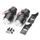 55W 3000K 1200-Lumen Yellow Light Car Halogeeni H3 sumuvalon polttimot (DC 12V / Pair)