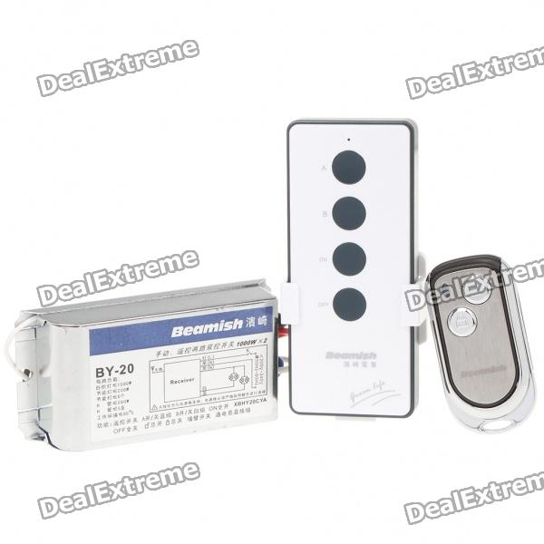 By 20 Wireless Remote Control Light Switch Free Shipping Dealextreme