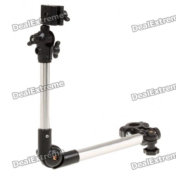Universal Folding Bicycle Umbrella Bracket Holder Mount Stand -Black
