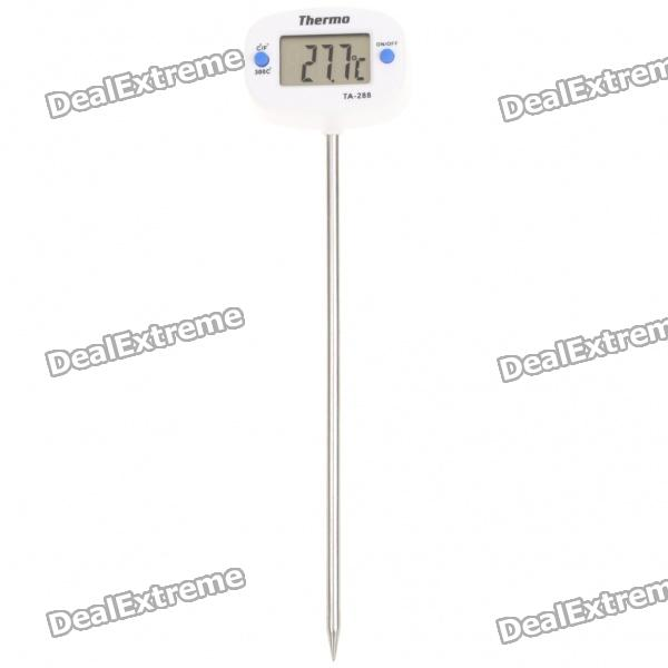 "1.0"" LCD Digital Food Thermometer (1 x AG13)"