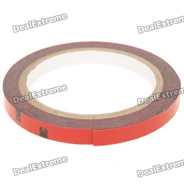 Double Faced Foam Adhesive Tape for Auto - Red (300 * 1cm)