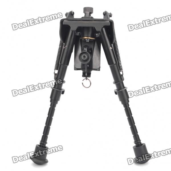 20.5cm Max Height Universal Aluminium BIPOD - Black