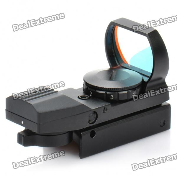 HDR-32 Gun Adjustable Red Laser Dot Sight - Black (1 x 2032)