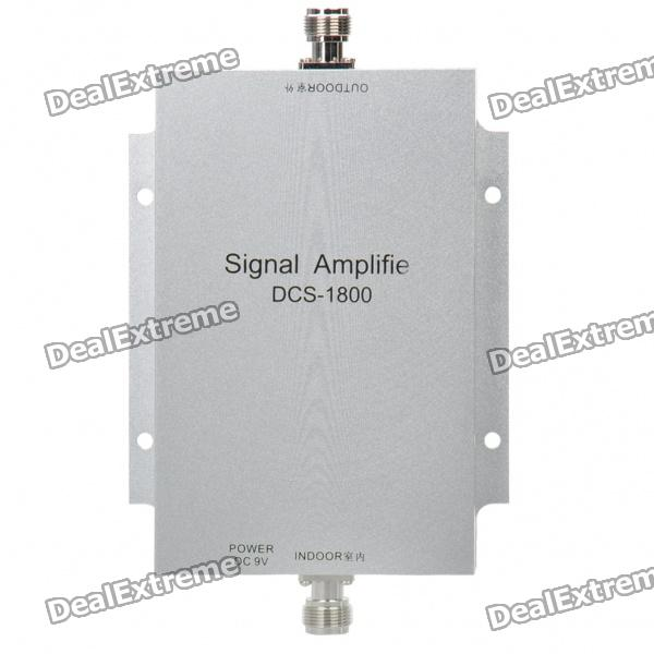 1710-1785MHz/1805-1880MHz Cell Phone Signal Booster Amplifier (AC 100~240V)Signal Booster<br>Model:Form  ColorSilverPacking List<br>