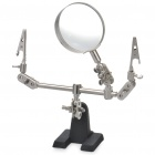 Helping Third Hand Soldering Stand w/ 5X Magnifying Glass