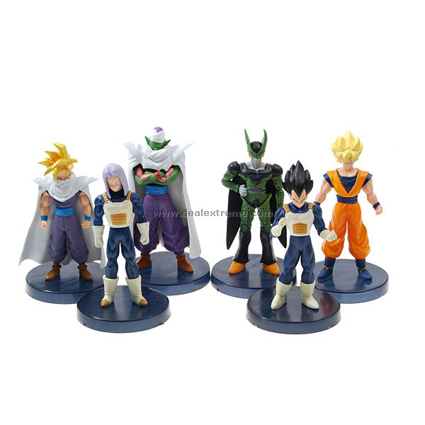 Buy Dragonball Anime Figures (6-Figure Set) with Litecoins with Free Shipping on Gipsybee.com