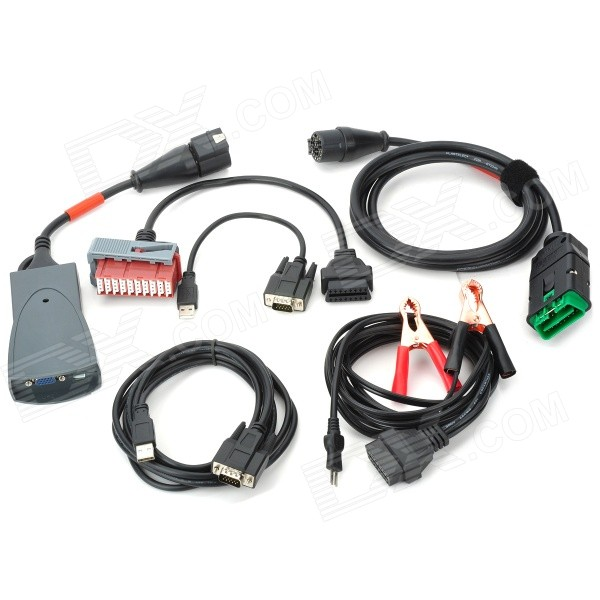 Buy PP2000 V23.25 Lexia-3 V46 Citroen/Peugeot Car Diagnostic Tool - Black with Litecoins with Free Shipping on Gipsybee.com