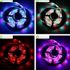 24W 1200LM RGB Color 300*SMD LED Decoration Light Strip (5m /DC 12V)
