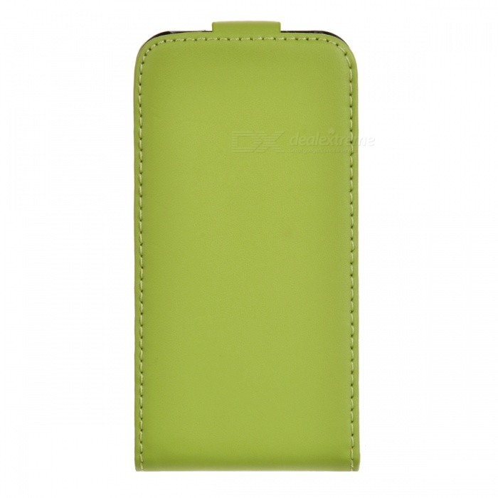 Real Leather Protective Case for Iphone 4/4S - Green