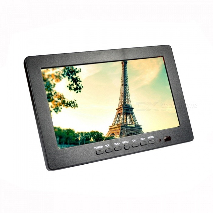 Portable 7 TFT LCD Monitor (AUTO/PAL/SECAM/NTSC)Other Consumer Electronics<br>Model:Form  ColorBlackPacking List<br>