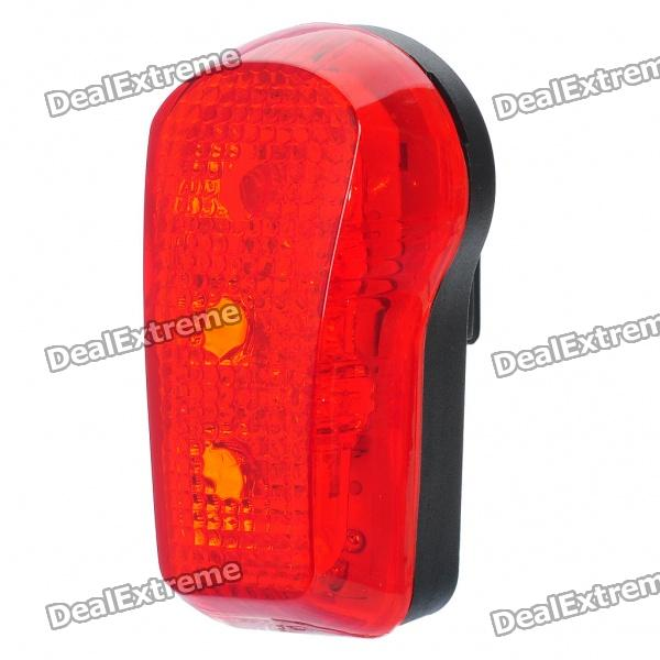 Waterproof 3-Mode 3-LED Red Light Bicycle Safety Tail Light w/ Bike Mount (2 x AAA)Bike Light<br>Model:Form  ColorBlackEmitter BINLEDColor BINRedNumber of Emitters1,2,3,4,5,6,7,8,10Number of Modes1Packing List<br>