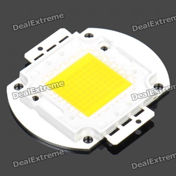80W 6000LM 3500K Warm White Light 80*LED Plate Module (DC 30~36V)