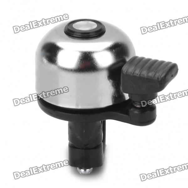 Mini Iron Bicycle Bike Bell Ringer - Silver