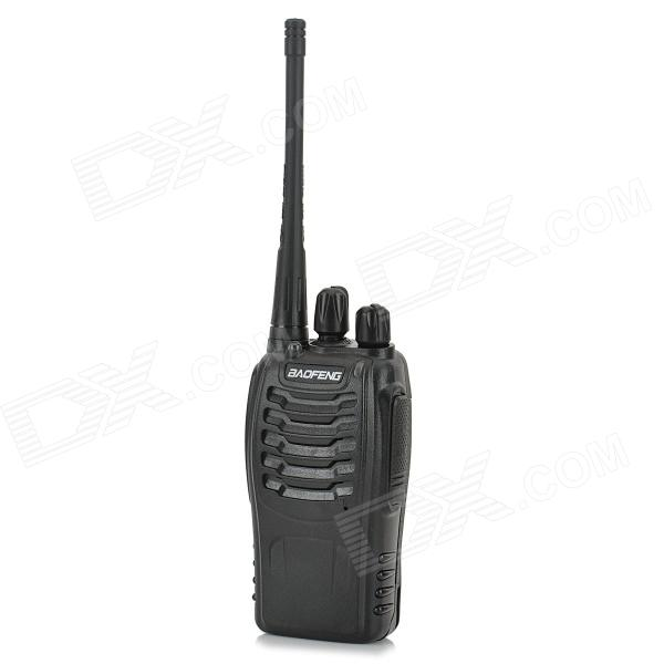 BAOFENG BF-888S 5W 400~470MHz 16-CH Walkie Talkie - Black