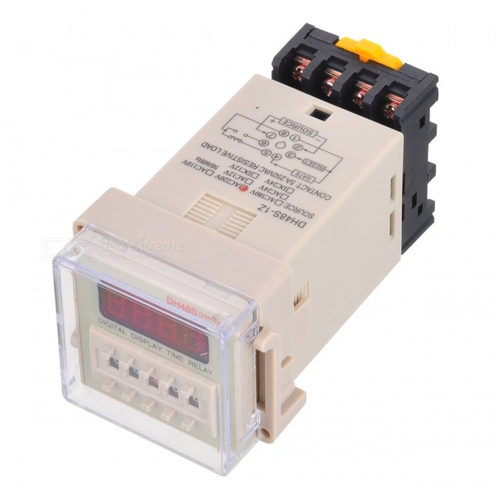 DH48S-14-LED-4-Digit-Digital-Display-Time-Delay-Relay-Counter
